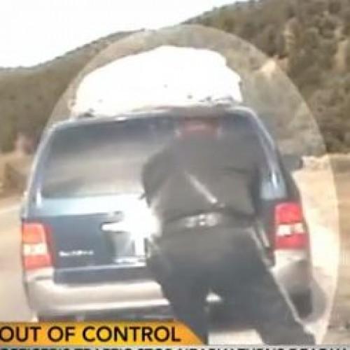 Cop Opens Fire on Minivan Full of Children