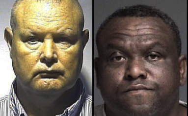 Duncan (left) is being charged with complicity to murder and Carter (right) is being charged with murder.