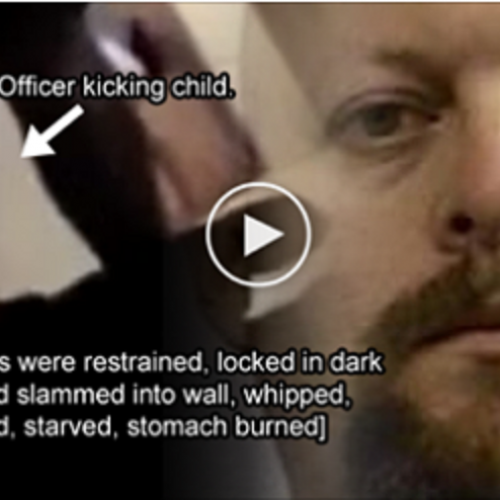 Cop Beat and Tortured Child for Over a Decade — Shackles, Whipping, Starvation