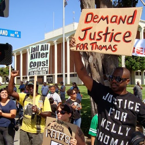 "Cops to Americans Seeking Justice for Kelly Thomas: ""Waiting to Smash Your F*cking Faces in"""
