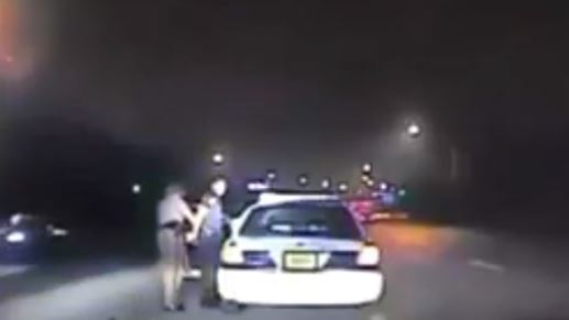 Dashcam footage shows officer Watts doing her job and arresting the reckless cop.