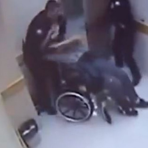 "Cop Found ""Not Guilty"" After Beating Man in Wheelchair"