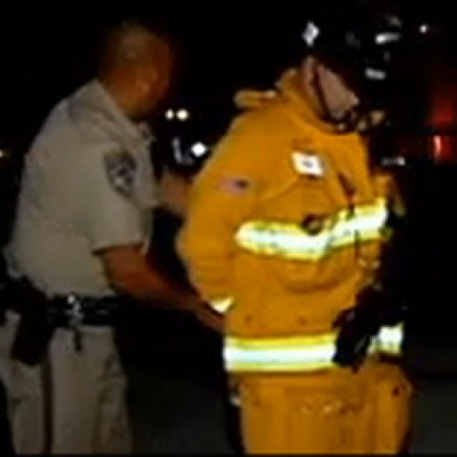 Cop Handcuffs Firefighter for Trying to Save Car Crash Victims