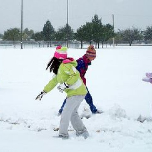 """Child Arrested and Charged with """"Felony"""" for Throwing Snowball"""