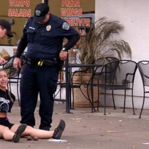 Jogging Woman Arrested and Dragged Into Squad Car for Crossing Street Without ID