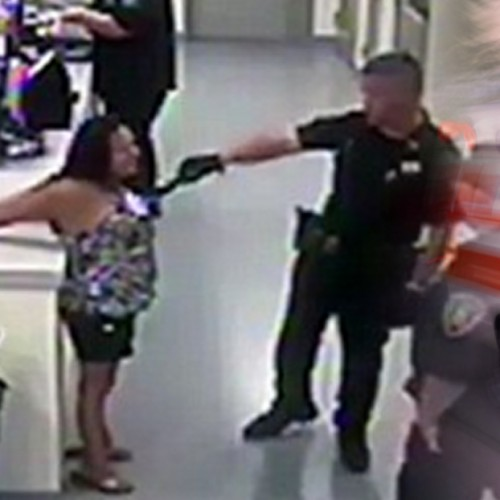 Remember the Cop Who Tased a Handcuffed Woman? American Citizens Just Put Him in the Hospital.