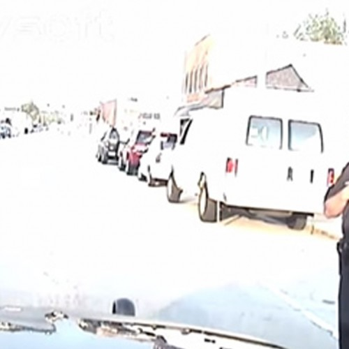 Sickening Dashcam: Cop Causes Motorcycle Crash, Stands and Stares at Victim, Renders NO Aid