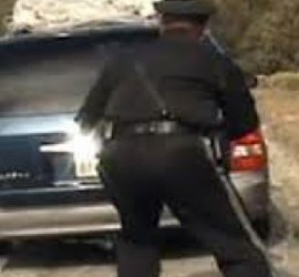 Last year, New Mexico police opened fire on a minivan full of children. See the video here.
