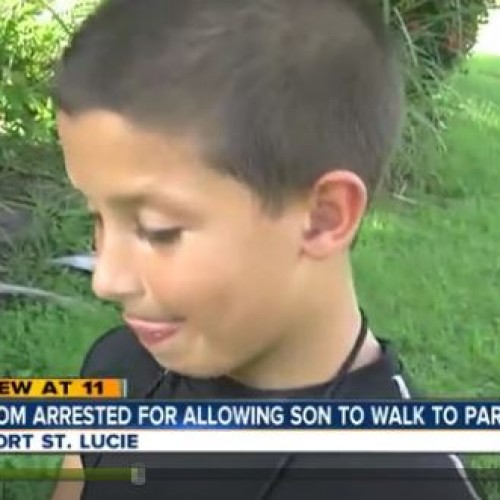 FLORIDA COPS ARREST MOTHER FOR ALLOWING SON TO PLAY IN PARK