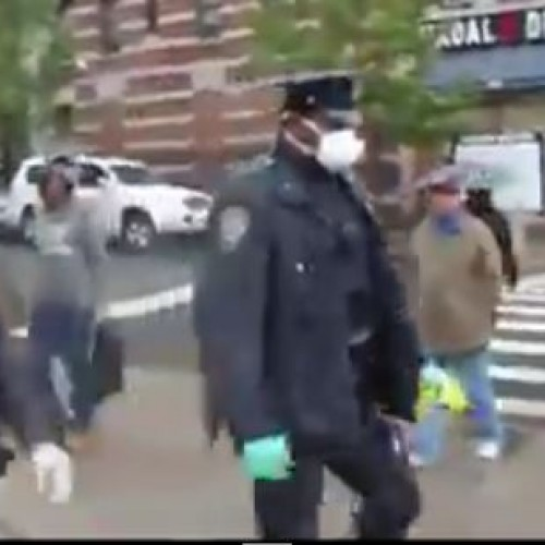 Incompetent Cops Leave Used Disease Gear in Public After Leaving Ebola Danger Zone