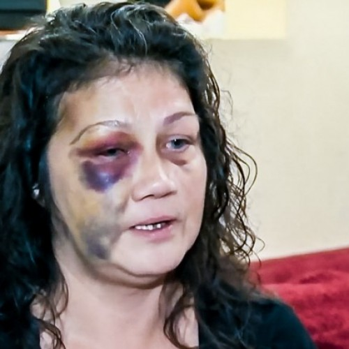 Cop Beats Mother and Pounds Her Face Into Table in Front of Her 8-Yr-Old Child