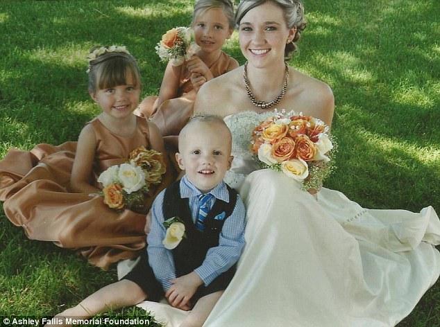 ashely wedding