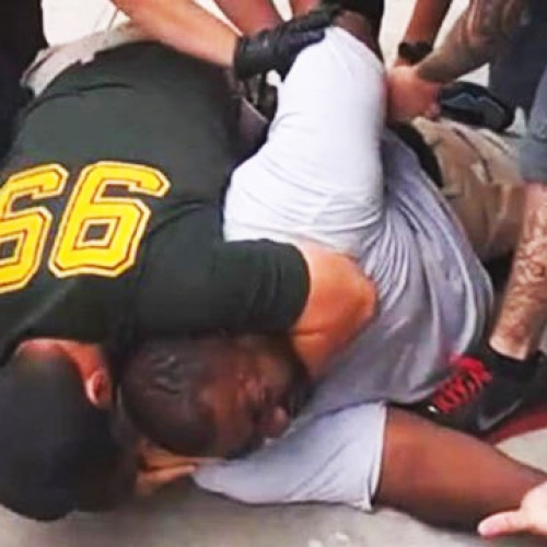 Cops Continue Choking Restrained Man Until He Goes Limp, Dies — Grand Jury to Decide on Charges