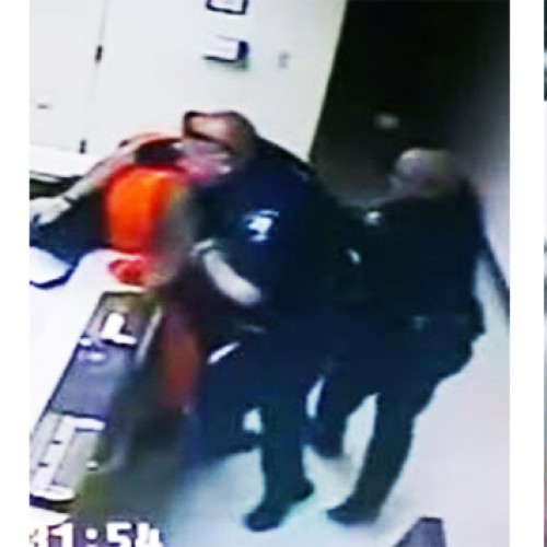 WATCH: Cops Slam Woman's Head Into Desk and Drag Her Body on Floor for Naked Search, No Charges