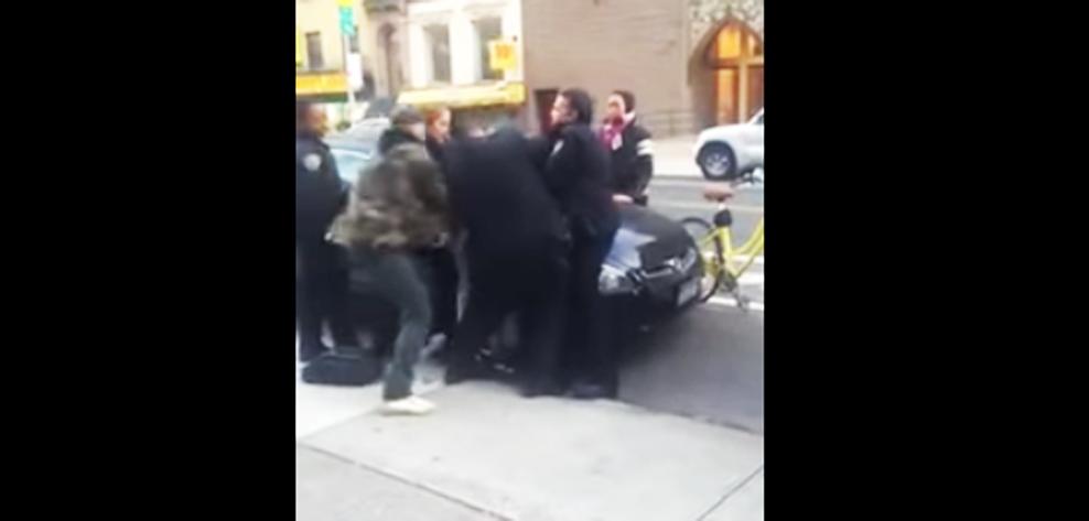 cop beat child