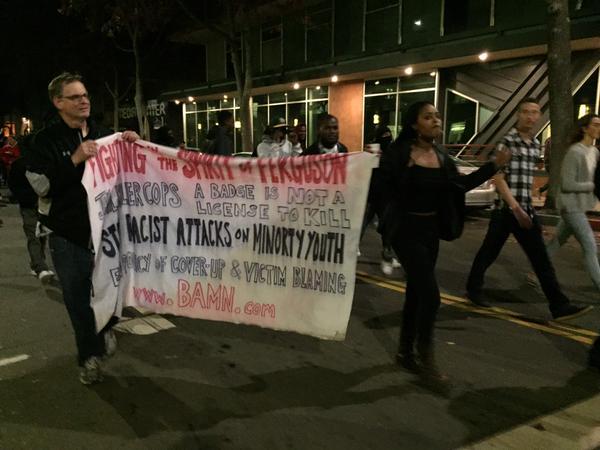 racist banner