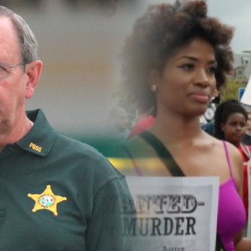 """""""..Accelerate Forward."""" – Sheriff Instructs Drivers to Begin Running Over Americans Who Protest Police Violence if Necessary"""