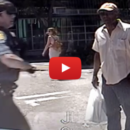 Female Cop Abuses 70-yr-old Air Force Veteran, Literally Arrests Him for Walking With a Cane