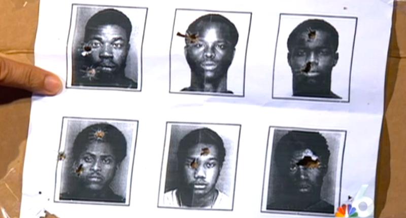 black men target practice