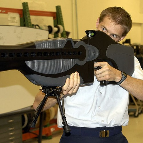 "Video: Police Eager to Begin Using ""Eye Blinding"" Gun Against American Citizens"
