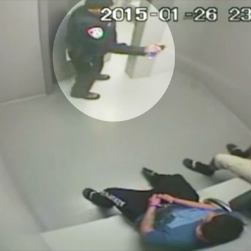 Raw Video Shows Cop Shoot Handcuffed Teen in the Face With Pepper Spray
