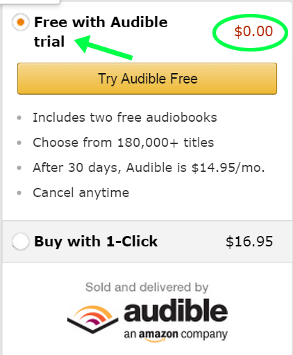 2nd audible step