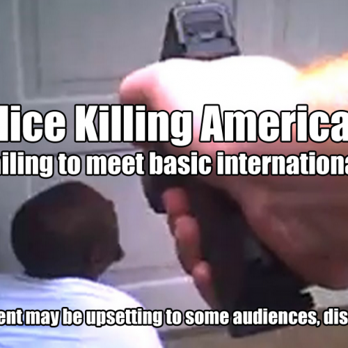 American Policing Fails International Standards for Use of Deadly Force