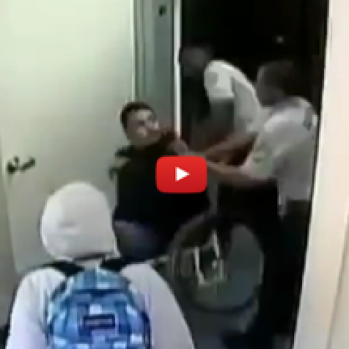 Video Catches Security Officer Beat Disabled Student in Wheelchair