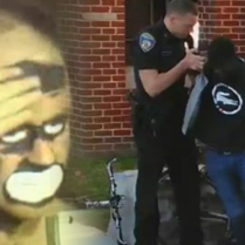 "BOMBSHELL: Ex-Cop Doing ""Blackface"" Show to Support Cops Who Killed Freddie Gray"