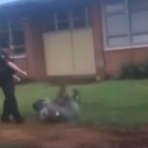 "Cop Shoots Two Children With Taser Gun for ""Fighting at School"""