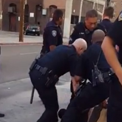 Teen Boy Beaten With Baton, Swarmed by Nine Cops … for Jaywalking