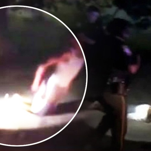 [WATCH] Police Just Shot City Council Member With a Taser While He Was Kneeling Down