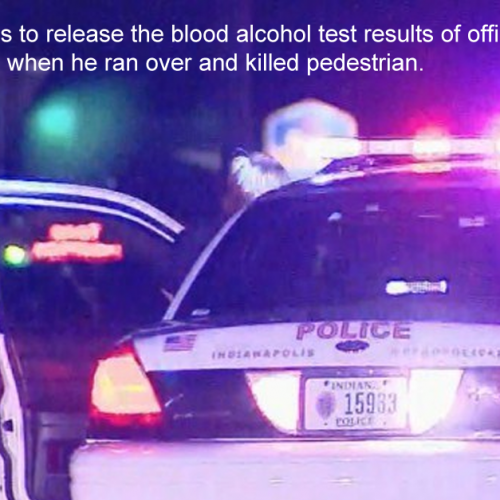"A Cop Just Ran Over and Killed a Pedestrian, His Breath ""Reeked of Alcohol"""