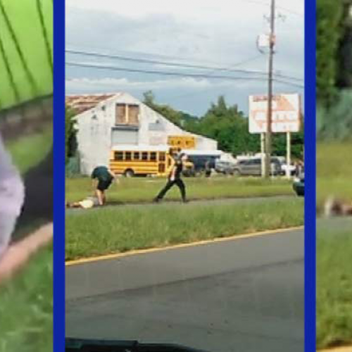 While On Desk Duty for Kicking a Cuffed Man in the Face, Cop Manages to Beat an Innocent Teen