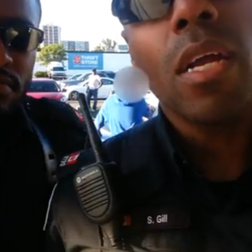 Childish Cops Bully Citizen for Filming