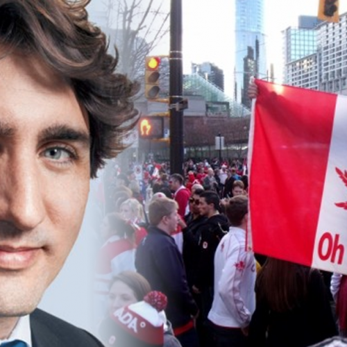 "Canada's New PM Issues Challenge to US – ""We're Ending Wars and Legalizing Pot"""