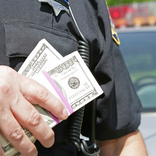 Corrupt Thief Cop Steals Thousands of Dollars in Sting that was Actually Targeting Him