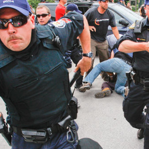 Police Arrest One of Their Own, Union Unhappy Because Excessive Force Was Used
