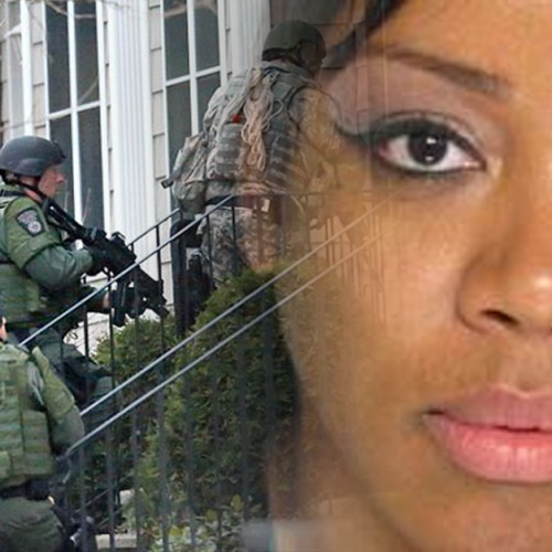 Cops and DEA Execute Drug Raid on Apartment – Walk in On Coworker