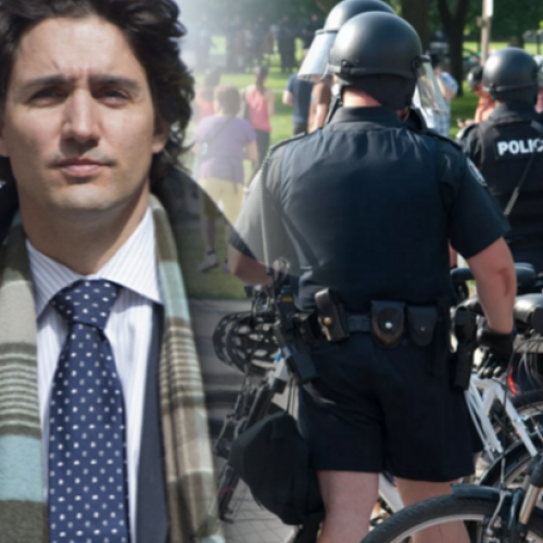 Canada's Prime Minister Expected to Directly Punish Cops for Sexual Assault, the Opposite of What American Presidents Do