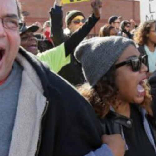 Black and White Church Members Unite to Condemn Police Brutality