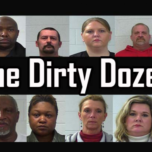 A Dozen Cops and the Sheriff in Single Dept All Arrested, Face More Than 120 Corruption Charges