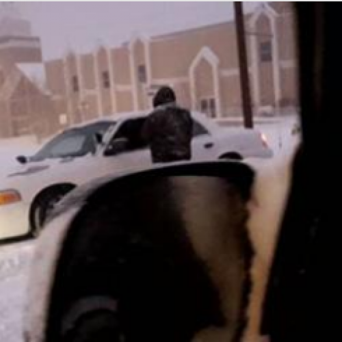 Police Force Homeless Americans Out of Shelters in the Middle of Blizzard Conditions