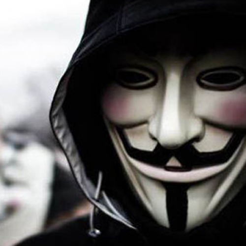 "Man Arrested for ""Quietly Wearing Anonymous Mask"""