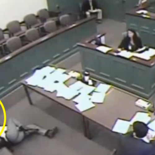 Judge Orders Cop to Taser Peaceful Man Right Inside Courtroom: Video