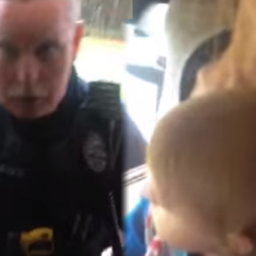 """""""We Don't Need a Warrant"""" — Cops Enter Home Through Window, Rip Infant From Mother's Arms"""