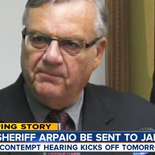Judge SLAMS Sheriff Arpaio, Finds Him Guilty on 3 Counts of Civil Contempt