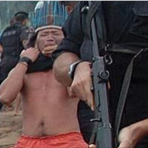 """Police Rounded Up Native Americans """"Like Animals"""" and Fenced Them in Without Charges"""