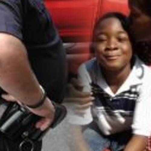 "School Cop Handcuffs 7yo Child and Shoves Him Around ""For Crying"" After Being Bullied"
