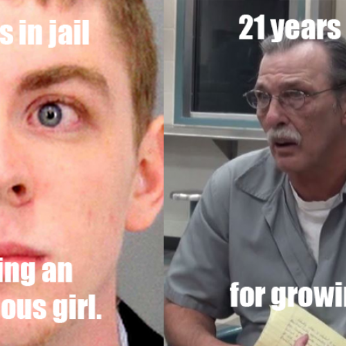 In America, Rapists Get 3 Months and Marijuana Offenders Get Life Sentences